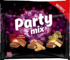 Party mix - mini čokoladice 300 g
